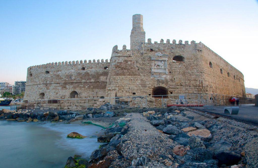 Aquarium, Heraklion Fortress and market