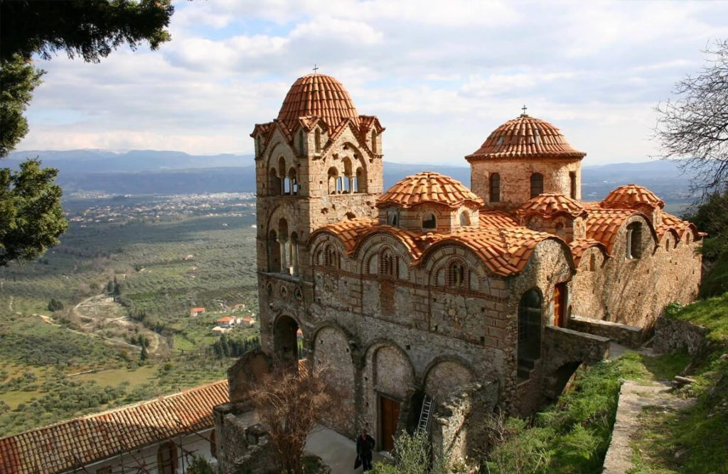 Mystras and Sparta